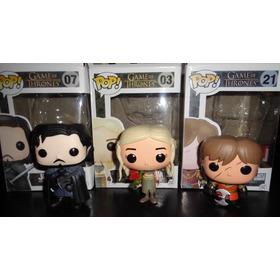 Funko Pop Game Of Thrones Original 3 Modelos Jon Daenerys