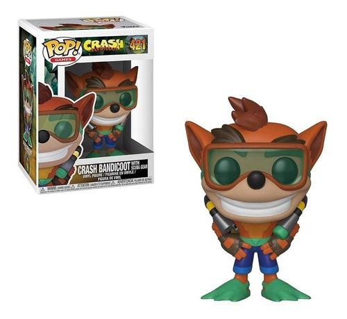 funko pop games #421 crash bandicoot pata' games & toys