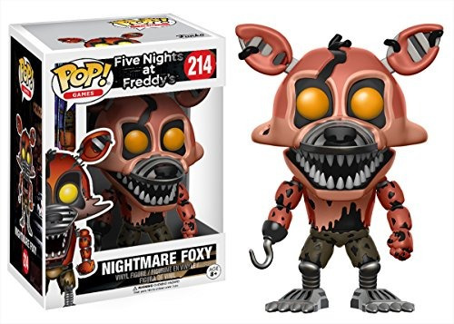 funko pop games five nights en freddy's nightmare figur