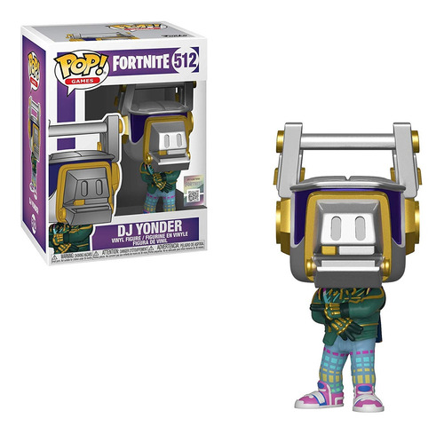 funko pop games fortnite s3 - dj yonder 512