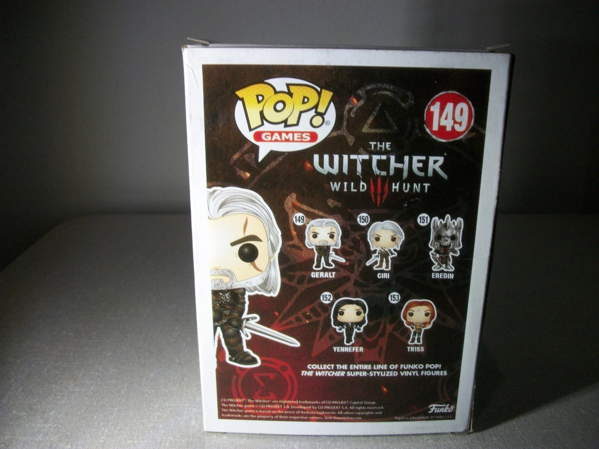 Funko Pop Games The Witcher Geralt N 149 Pronta Entrega R 98 Bott Carregando Zoom