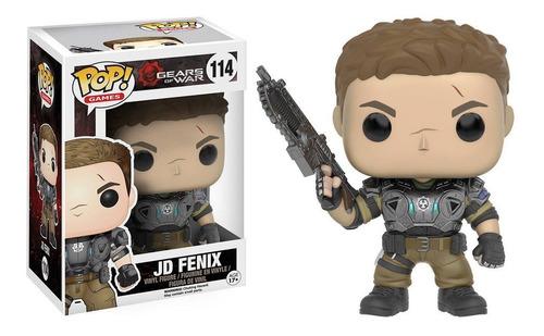 funko pop - gears of war - jd (armored) #114 original