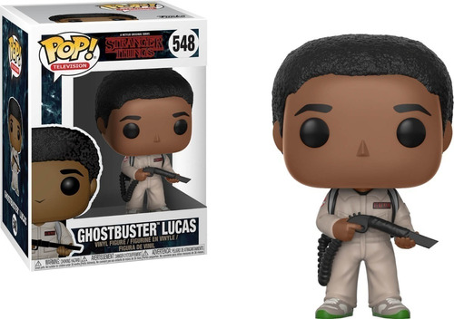 funko pop ghostbuster lucas 333 - stranger things