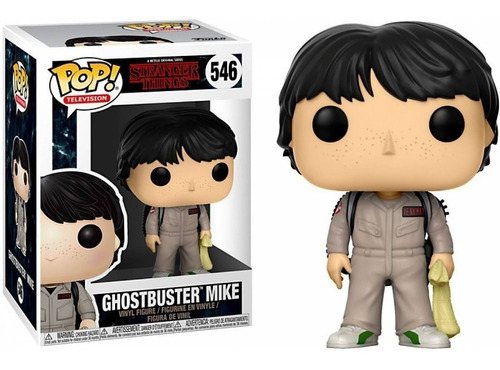 funko pop ghostbuster mike 546 - stranger things