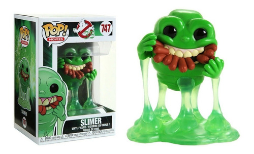 funko pop ghostbusters slimer with hot dogs