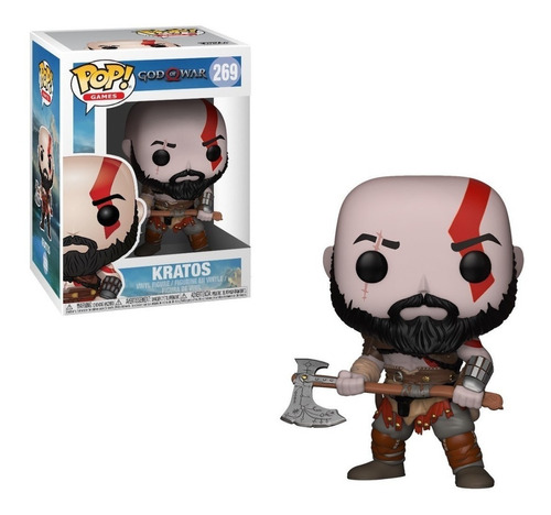 funko pop god of war kratos 269