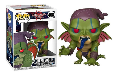 funko pop! green goblin 408 spiderman muñeco original