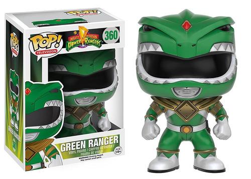 funko pop green ranger power rangers morphing vinyl