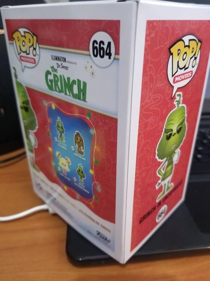 Imagenes De Grinch De Buenos Dias.Funko Pop Grinch En Ropa Interior Gamestop 1