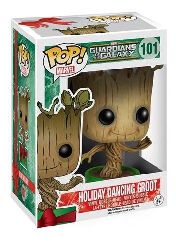 funko pop groot #101 marvel guardianes de la galaxia