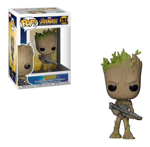 funko pop! groot #293 muñeco original coleccionable full