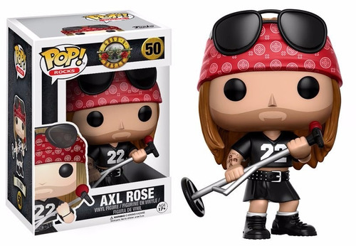funko pop guns n roses axl rose axel rose entrega inmediata!