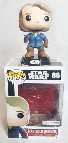 funko pop han solo exclusivo de loot crate star wars