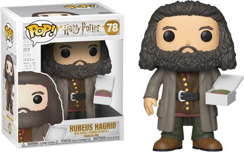 funko pop -  harry potter - dobby - hermione - rubeus hagrid
