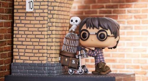funko pop - harry potter plataforma 9 3/4 - parc. sem juros