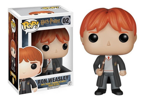 funko pop - harry potter - ron - hermione granger - voldemor
