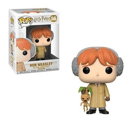 funko pop - harry potter - ron weasley - herbology #56