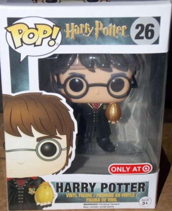 Vinyl--Harry Potter Harry Triwizard Pop Vinyl Pop