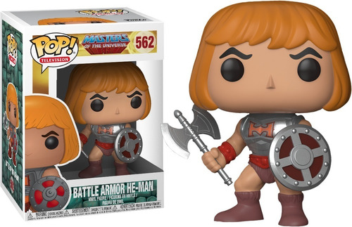 funko pop he man battle armor 562 original random comics