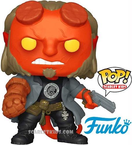 funko pop! hellboy 750 original funko scarlet kids