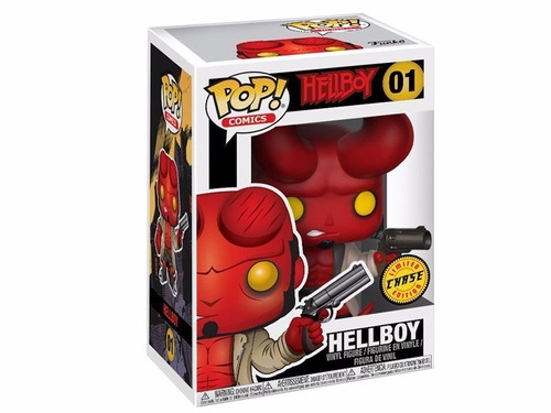 funko pop hellboy chase #01 limited chase edition comic