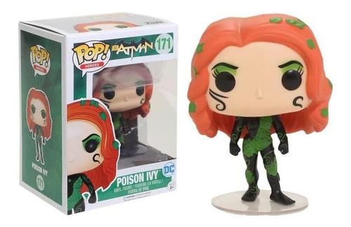 funko pop heroes batman - poison ivy exc #171 original nfe