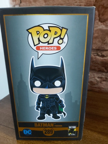 funko pop! heroes dc: #289 batman forever (80 years)original