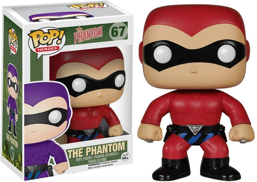 funko pop! heroes: the phantom - the phantom n67