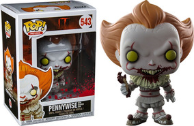 With Exc Arm Pop Pennywise Severed Funko Horror It Amazon N08mwvOn