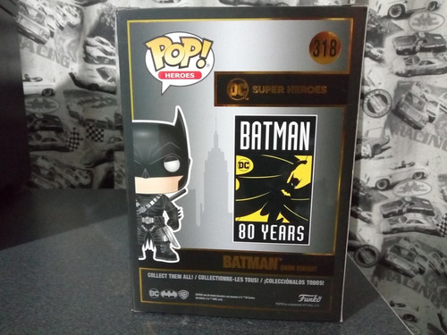 funko pop hot topic exclusivo batman grimm knight
