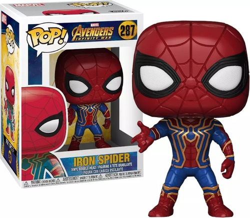 funko pop - infinity war - groot - iron spiderman - thanos