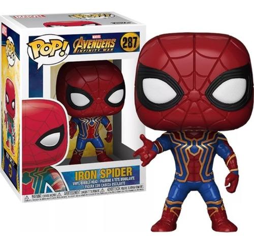 funko pop iron spider #287 spiderman spider man hombre araña