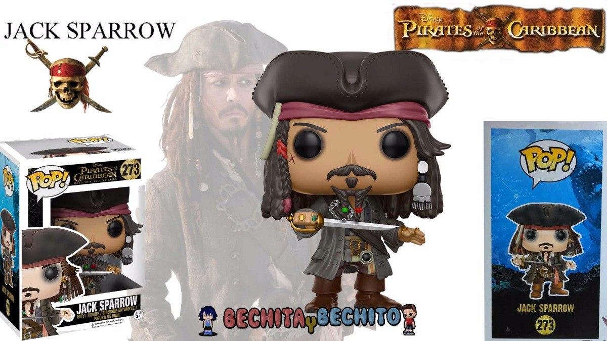 Funko Pop Jack Sparrow 273 - Piratas Del Caribe