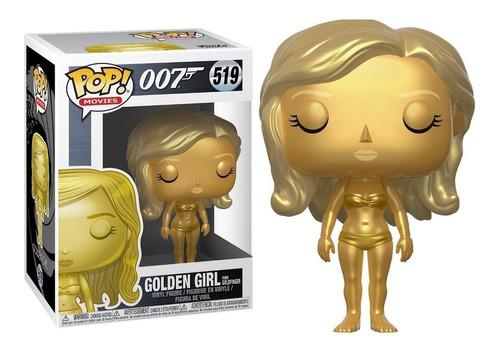funko pop james bond golden girl