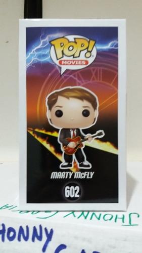 funko pop! [jg] marty mcfly #602 c/detalles