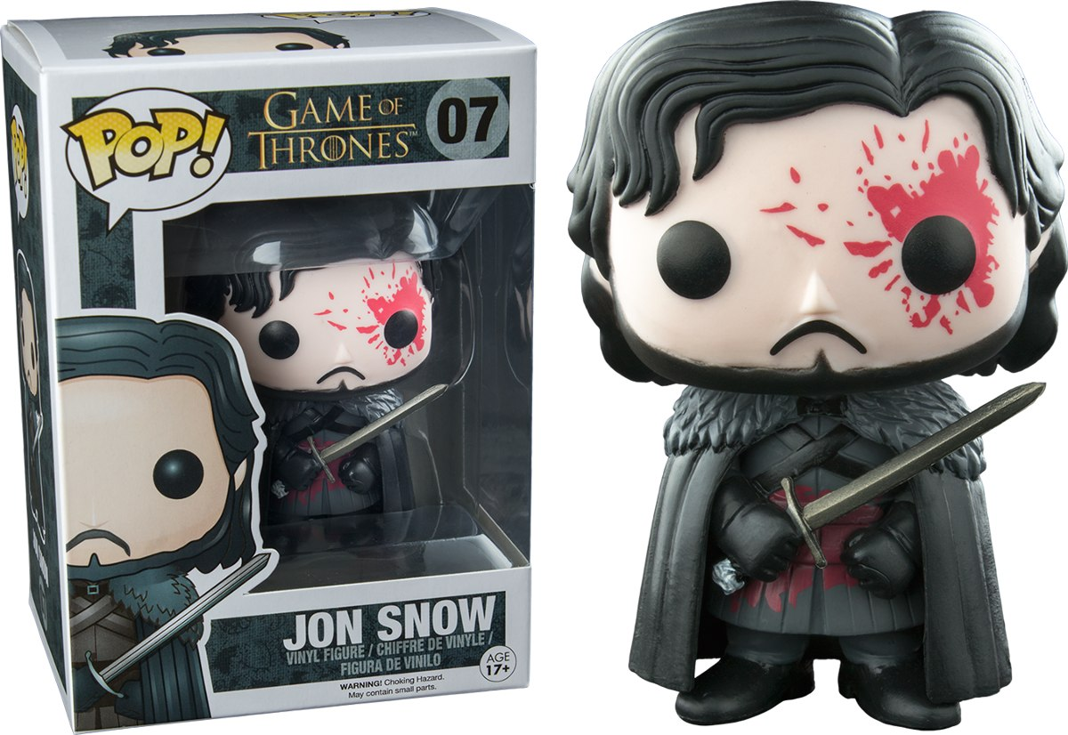 Funko Pop Jon Snow Bloody Game Of Thrones Exclusivo Sangre