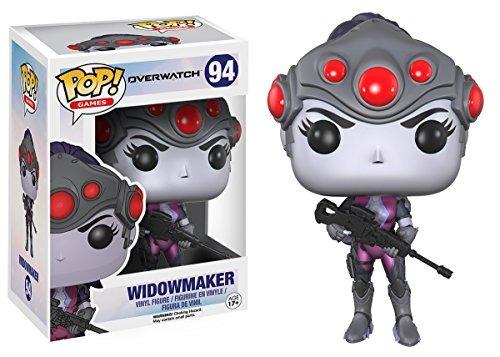 ¡funko pop! juegos: overwatch action figure - widowmaker