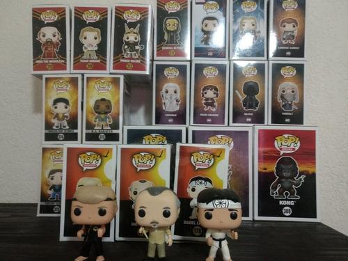 funko pop karate kid (set completo)