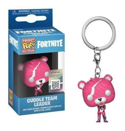 funko pop! keychain: fortnite - cuddle team leader (35717)