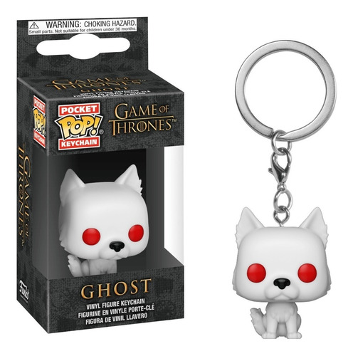 funko pop! keychain: game of thrones - ghost (34910)