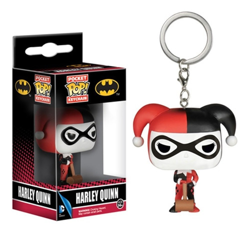 funko pop keychain harley quinn nortoys