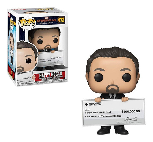 funko pop keychain marvel - happy hogan 472