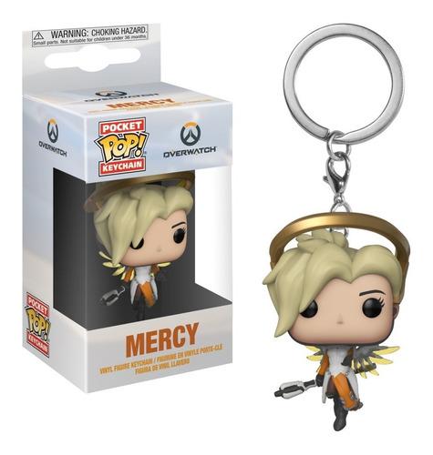 funko pop! keychain: overwatch - mercy (31748)