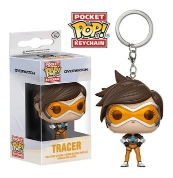 funko pop! keychain: overwatch - tracer - funko pop