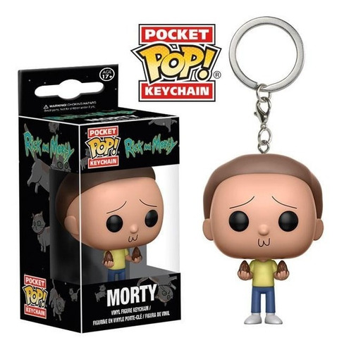 funko pop keychain rick and morty morty nortoys