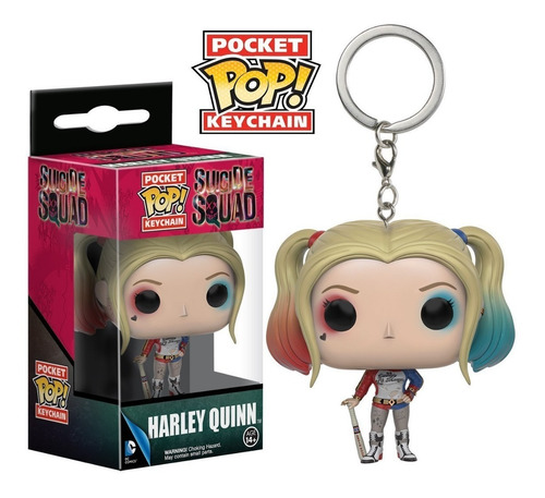 funko pop! keychain: suicide squad - harley quinn (9357)