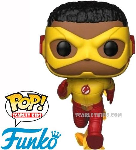 funko pop kid flash 714 original the flash dc scarlet kids