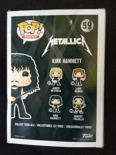 funko pop! kirk hammett metallica #59