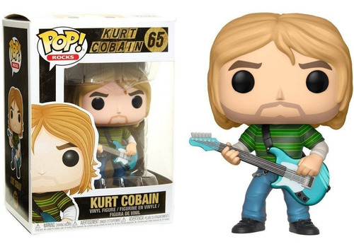 funko pop kurt cobain nirvana muñeco coleccion funkopop