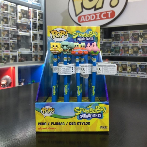 funko pop lápiz bob esponja - spongebob